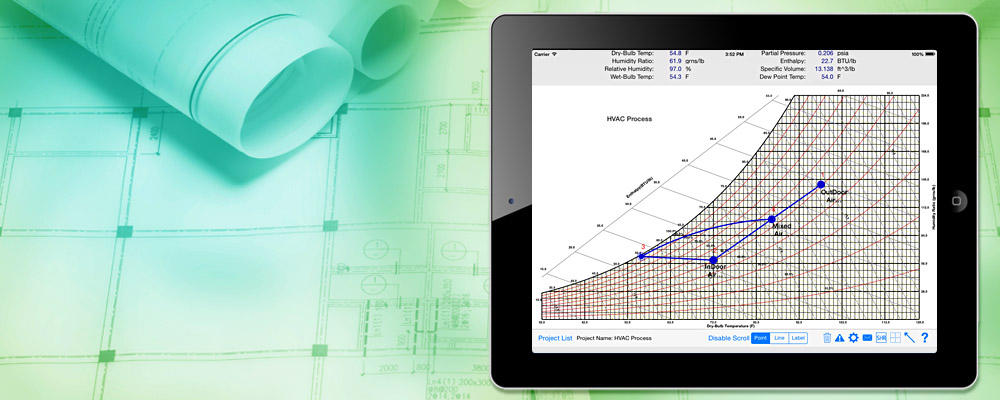 Perform HVAC Psychrometric Calculations